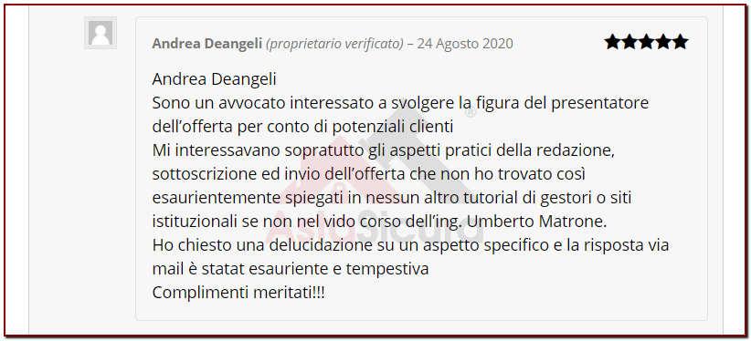 Avv Andrea Deangeli